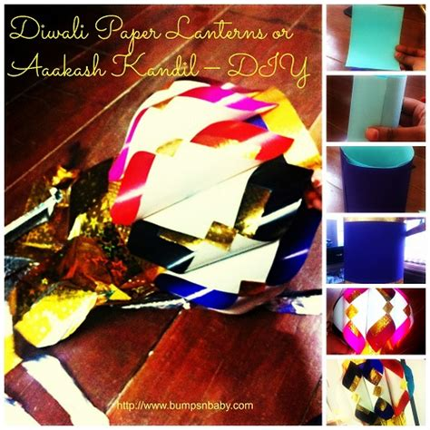 How To Make Diwali Paper Lanterns - make diwali paper lanterns or aaakash kandil at home diy