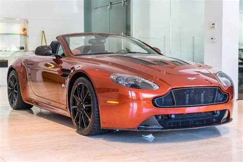 Aston Martin Pre Owned by Pre Owned 2016 Aston Martin V12 Vantage S Roadster In