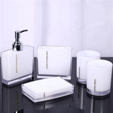 5pcs Set Bathroom Supplies Wash Set Family Bathroom Bathroom Accessories Supplier