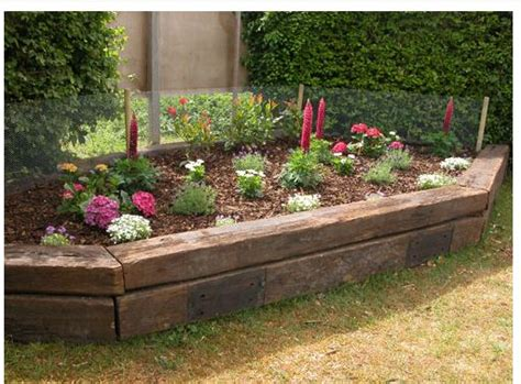 Railroad Ties Landscaping Ideas 17 Best Ideas About Railroad Ties Landscaping On Pinterest Railroad Ties Railway Sleepers
