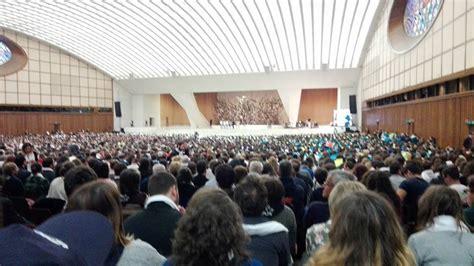 ingresso sala nervi udienza papale 26 novembre 2016 pro loco felitto