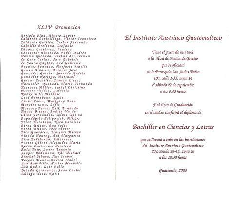 invitacion de graduacion en espanol graduacion de secundaria frases apexwallpapers com