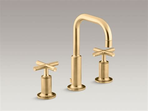 brushed nickel and gold bathroom fixtures standard plumbing supply product kohler k 14406 3 bn