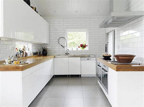 white and wood kitchen white kitchens