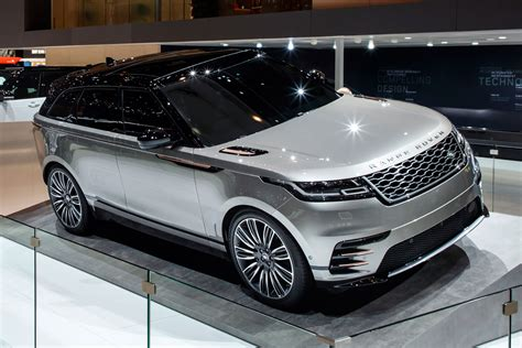 new land rover prices new range rover velar suv revealed geneva debut specs