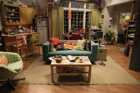 layout of dexter s apartment リビング編 ペニーの部屋 ビッグバンセオリー 海外ドラマ 映画 可愛くて素敵でお洒落なインテリア