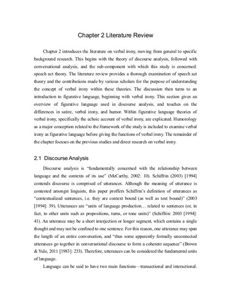 Chapter 2 The Chemistry Of Section Review 2 3 by Kris Dissteration Chapter 2 Literature Review