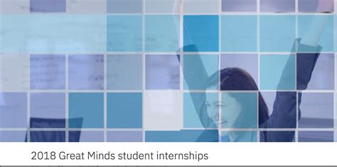 Ibm Mba Intern by Ibm 2018 Great Minds Initiative Internships For Students