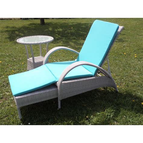 fauteuil chaise longue chaise longue en aluminium et r 233 sine grise sp 233 cial ext 233 rieur