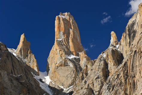 Trango Nameless Tower trango towers snowland