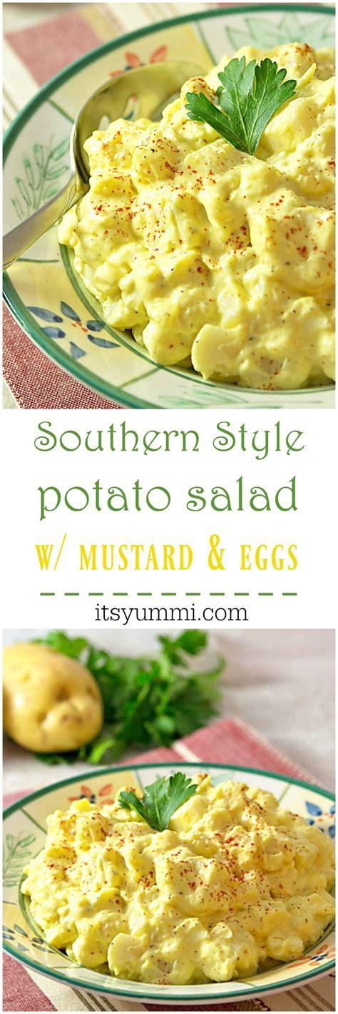 fatback and foie gras southern style potato salad recipe southern style mustard potato salad its yummi