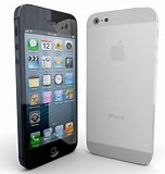 Image result for iPhone 5 Models. Size: 152 x 160. Source: www.turbosquid.com