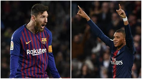 psg win ligue  kylian mbappe posting lionel messi
