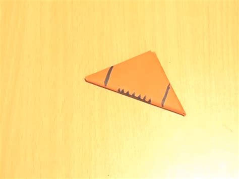 Origami Paper Football - how to make a paper football 13 steps with pictures