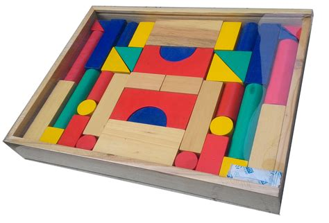 Mainan Kayu Azka Nobie Balok Bangun Besar 1 balok bangun kayu besar 42b mainan kayu