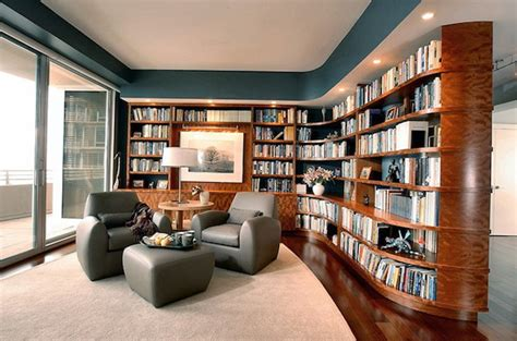 Contemporary Dining Room Decorating Ideas fascinating library styles for contemporary home2014