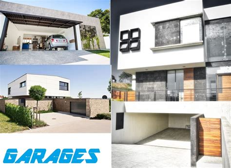 idee garage garage maison moderne design pas cher accole