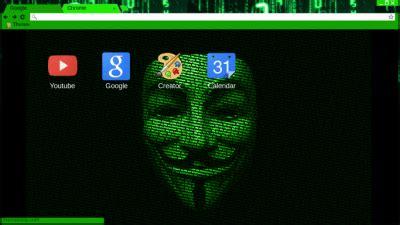 chrome theme hacker hacker chrome themes themebeta