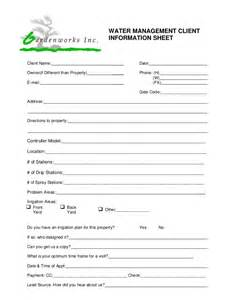 gardenworks water management forms 2014