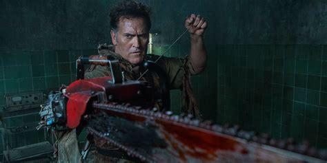 film ash vs evil dead ash vs evil dead season 3 has different tone screen rant