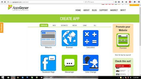 cara membuat aplikasi android yang mudah cara mudah membuat aplikasi android dengan appgeyser