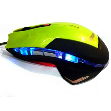 Mouse Eblue Mazer jual e blue mazer type r optical gaming mouse yellow