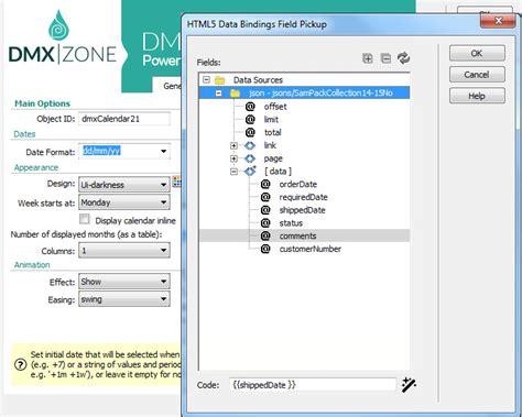 calendar design html5 dmxzone calendar 3 features in detail dmxzone com