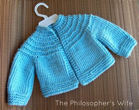 knitting baby sweaters in one knit baby sweater pattern one sweater jacket