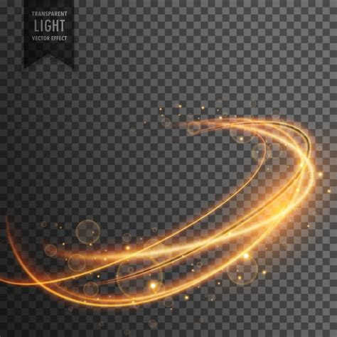 lights effects light effect with abstract shape vector free