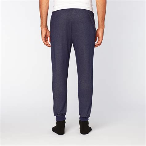 soft denim jogger navy s bottoms out touch of modern
