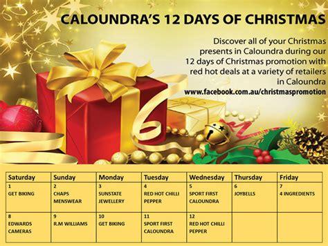 caloundra 12 days of shopping event brisbane
