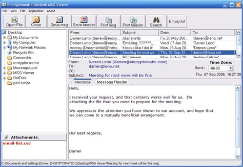 email format eml viewer for msg and eml email message files 2 6 download
