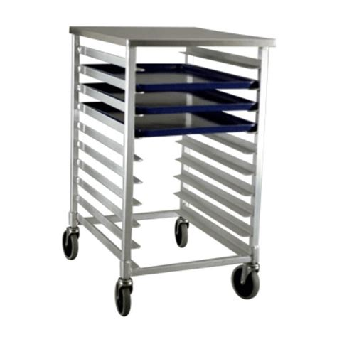 new age half size aluminum sheet pan rack for 10 size