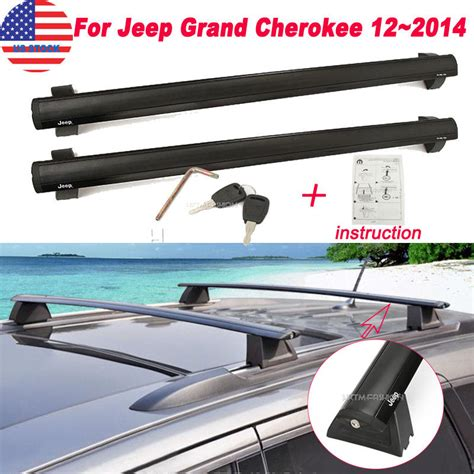 2014 Jeep Grand Roof Rack Cross Bars by For 2011 2014 Jeep Grand Removable Roof Rack