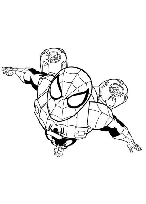 coloring pages of ultimate spider man iron fist ultimate spider man coloring pages coloring pages
