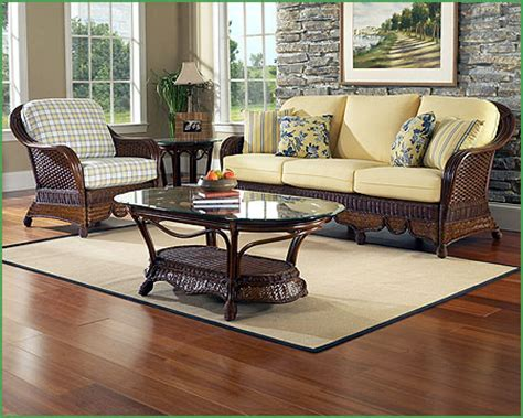 boca rattan moroccan rattan living room set 4 pieces