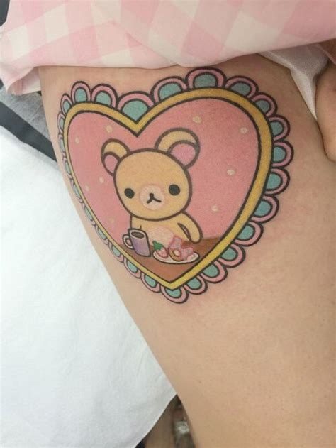cartoon tattoo on tumblr bear tattoo on tumblr