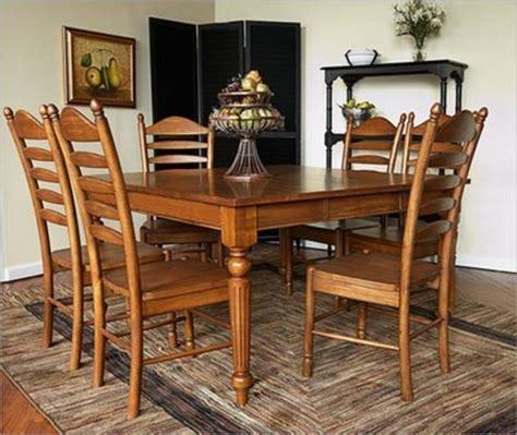 Country Dining Room Tables by Decor For World Country Provincial Dining Sets Design Bookmark 7642