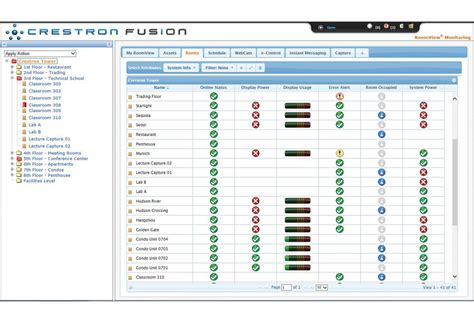 crestron room booking system crestron veraview