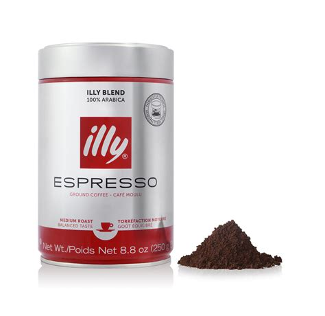 espresso ground coffee ground espresso medium roast coffee illy eshop
