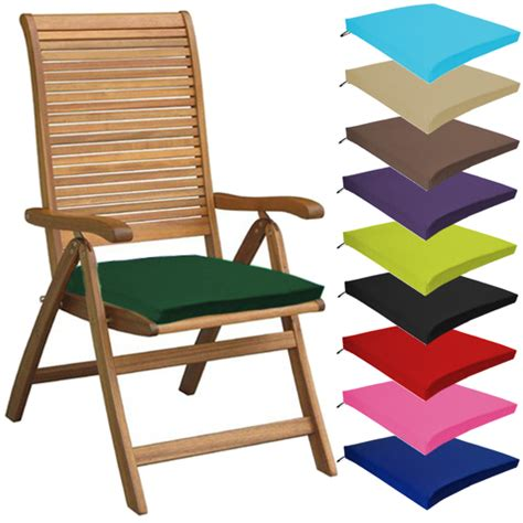 waterproof cushions for patio furniture multipacks outdoor waterproof chair pads cushions only garden patio furniture ebay