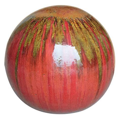 ceramic gazing ball garden reversadermcream com