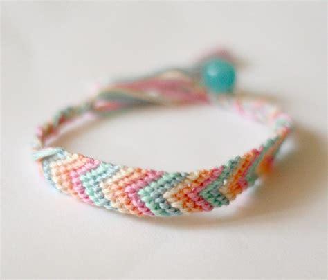 bracelets diy chevron pastel friendship bracelet 183 how to braid a