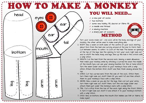sock animal pattern book sock monkey pattern on www pages the great sock monkey challenge random