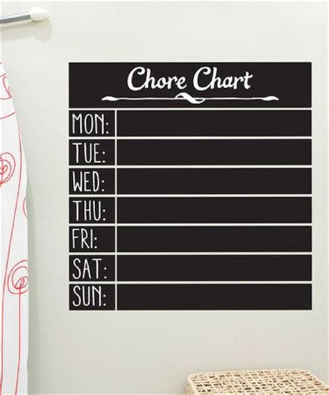 diy chalkboard chore chart 102 best images about diy home projects on how
