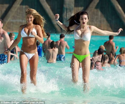 young teen girls water park see through amy willerton digs out her white bikini as she shows off