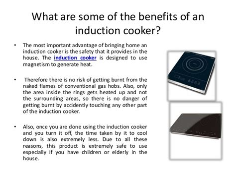 induction heating advantage bring home the induction cooker and your get easier