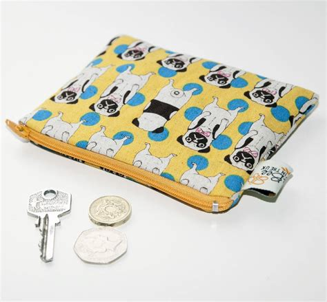 pug coin purse pug coin purse by quirkybee notonthehighstreet