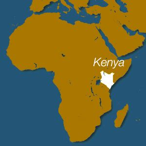 quiz questions kenya on which continent is kenya located