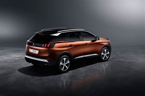 peugeot 3008 2017 black peugeot cars news all new 2017 peugeot 3008 suv unveiled